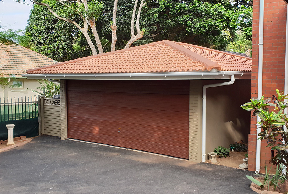 Standard Double Garage - Elangeni Buildings