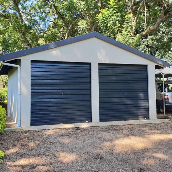 G005 - Double Garage Plastered