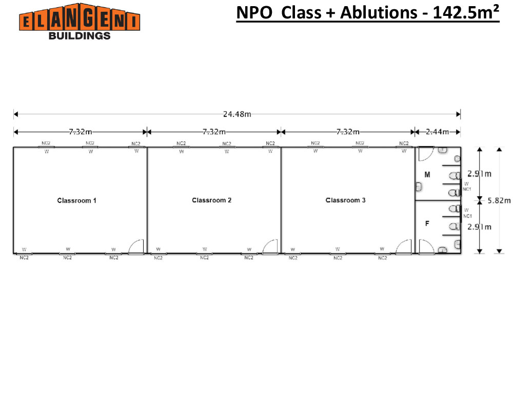 NPO--Class-+-Ablutions---142.5m²